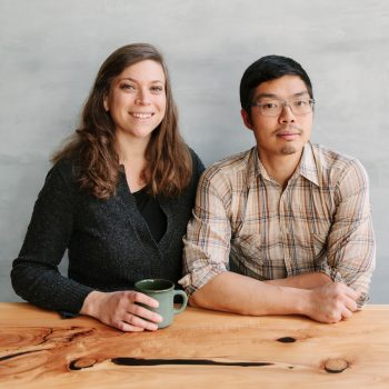 Karen Leibowitz and Anthony Myint (Photo credit: Alanna Hale)