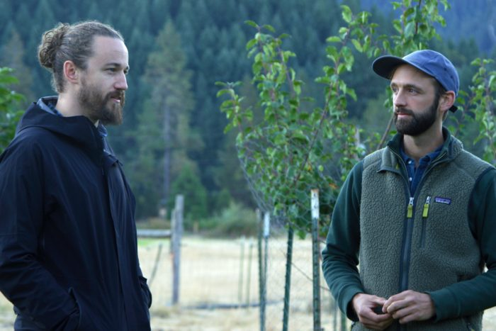 East Fork Cultivars CEO Mason Walker (left) and co-founder Aaron Howard.