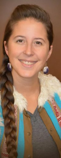 Lea Zeise (photo courtesy of Intertribal Agriculture Council)