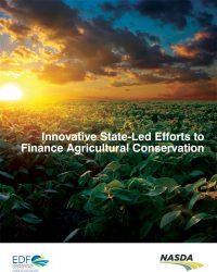 cover of the sustainable farming and state funding report