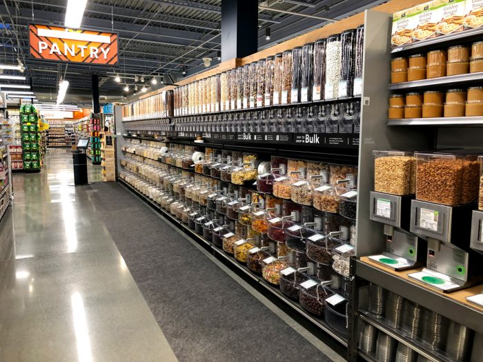 A Whole Foods Market bulk section.