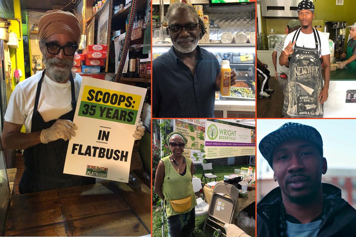 portraits of new york city's black vegan chefs