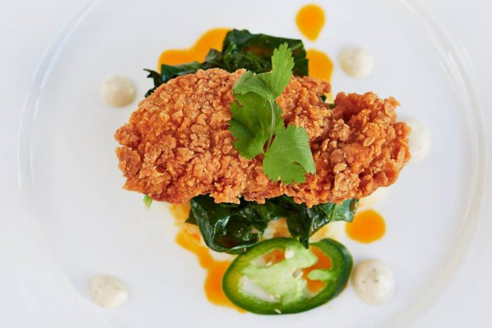 Memphis Meats' fried chicken. (Photo courtesy of Memphis Meats)