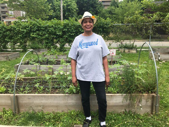 BUGs' farm manager, Celeste Taylor.