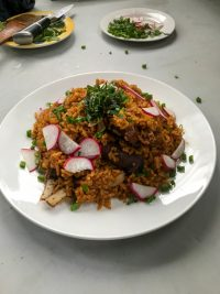 Jollof rice with lamb from Chef Kiko