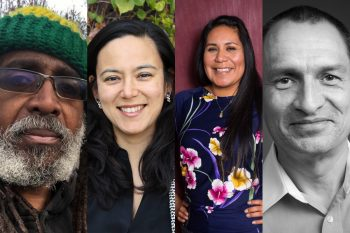 four food justice leaders - malik yakini nina ichikawa ricardo salvador a-dae romero-briones