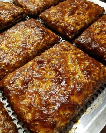 Squirrel and Crow's glazed tempeh.