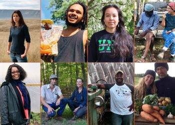 collage of inspiring people civil eats profiled in 2019