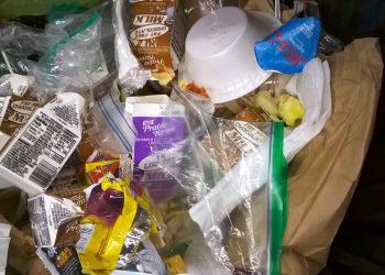School Food Waste photo by G Witteveen on Flickr.