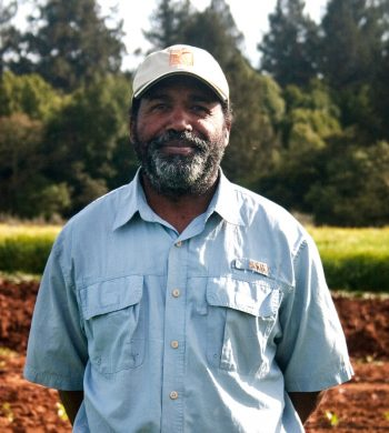 Leonard Diggs is developing Pie Ranch, an incubator farm in Pescadero, California. Photo from Leonard Diggs.