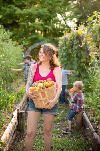 YouTube Farmer Jessica Sowards of Roots and Refuge Farm