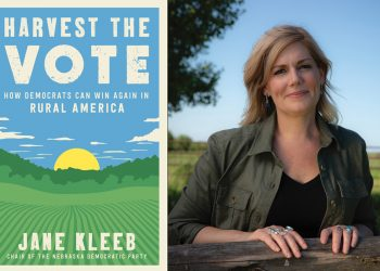 jane kleeb harvest the vote book cover