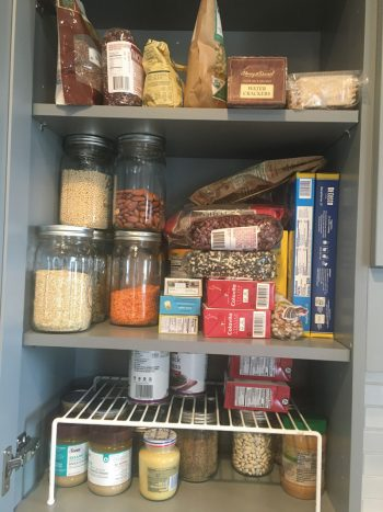 A look at Kim O'Donnel's pantry.