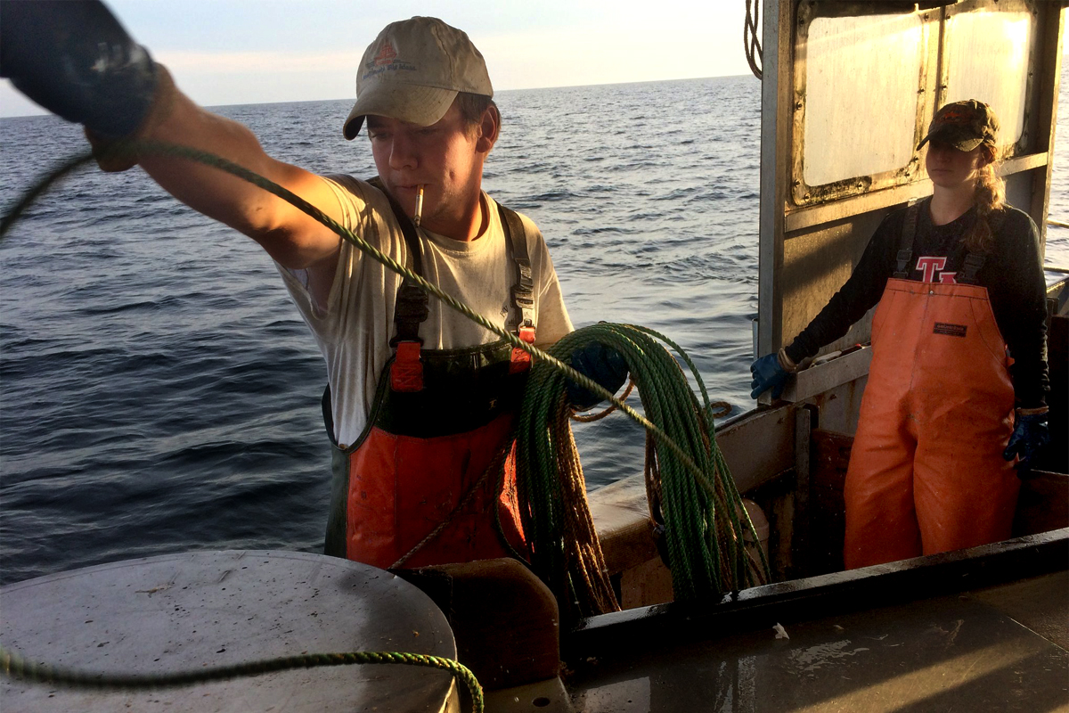 Scott MacAlister (photo courtesy of courtesy of the Cape Cod Commercial Fisherman's Alliance)