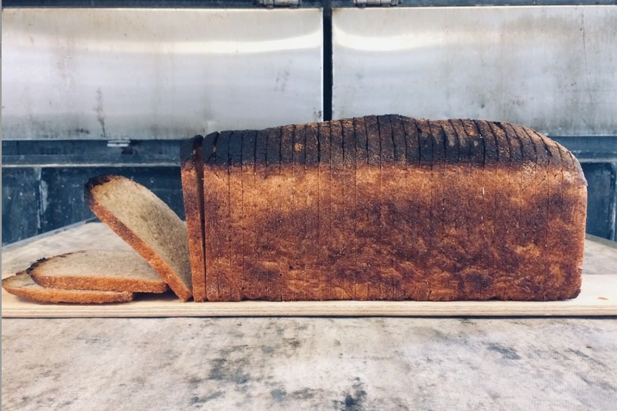 Local grain mill Sparrow Bush Farm is offering a Neighbor Loaf during the pandemic. (Photo courtesy of Sparrow Bush Farm)