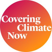 logo for covering climate now