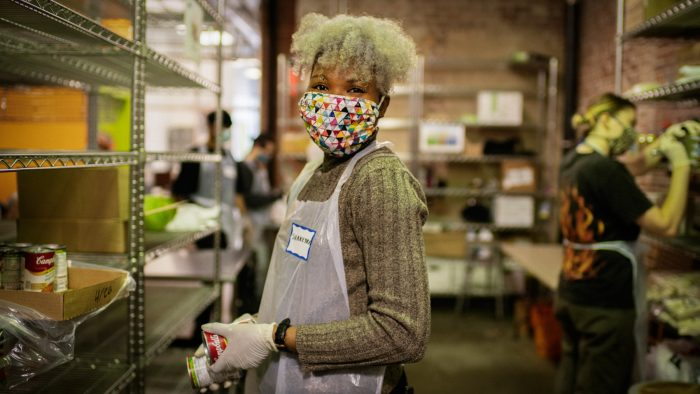 Shakeyra Stewart, Golden Harvest volunteer