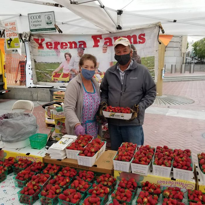 Yerena Farms, one of the vendors at the Heart of the City Farmers' Market in San Francisco. (Photo courtesy of Heart of the City)