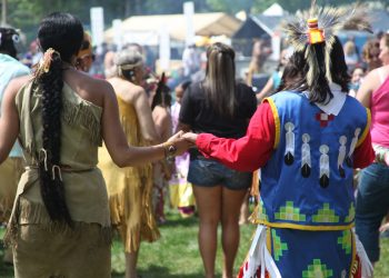 A Mashpee Wampanoag tribal gathering. (Photo courtesy of the Mashpee Wampanoag)