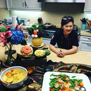 Home chef Benz Martin of Cooking Thai by Benz