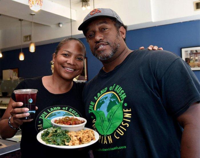 Naijha Wright-Brown and Gregory Brown. (Photo courtesy of Land of Kush)