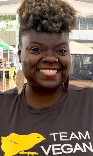 Gwenna Hunter (Photo courtesy of Vegans of LA)