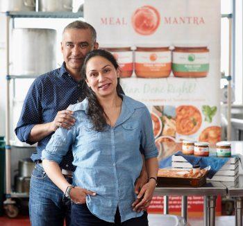 Tarun and Anu Bhalla of Meal Mantra.