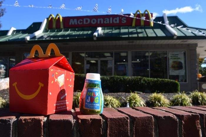 happy meals outside a mcdonald's restaurant in maryland's prince george's county. (Photo by Gabriel Pietrorazio)