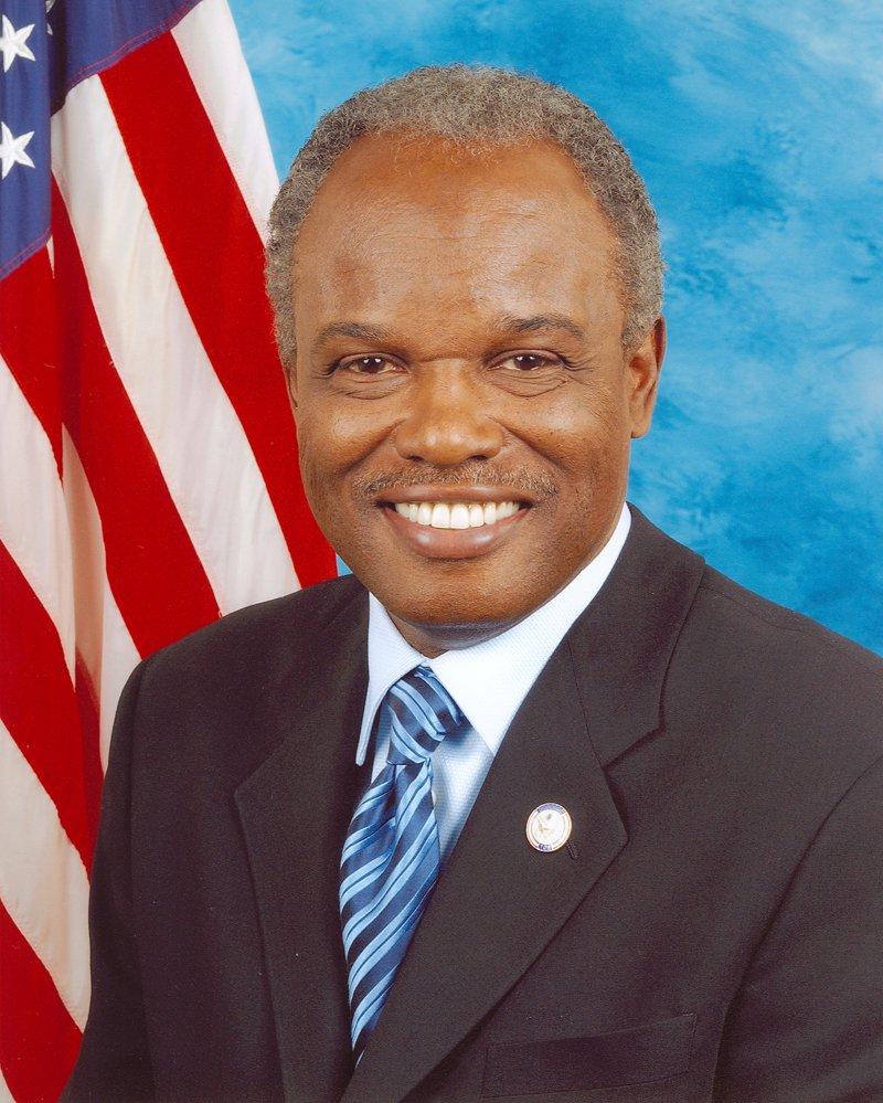 David Scott's official Congressional portrait.