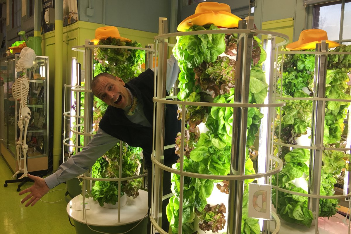 Stephen Ritz of The Green Bronx Machine. (Photo courtesy of Green Bronx Machine)