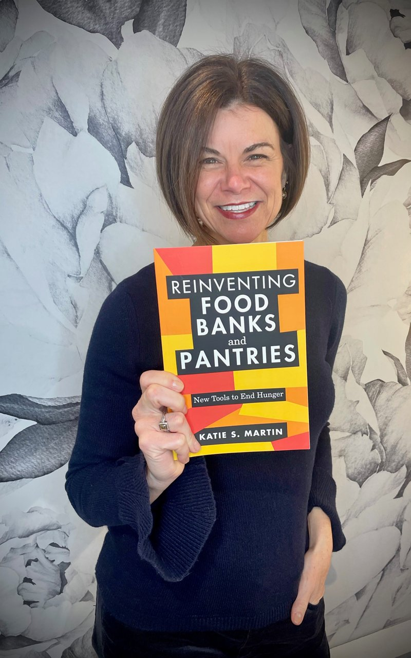Katie Martin with her new book. (Photo courtesy of Katie Martin)