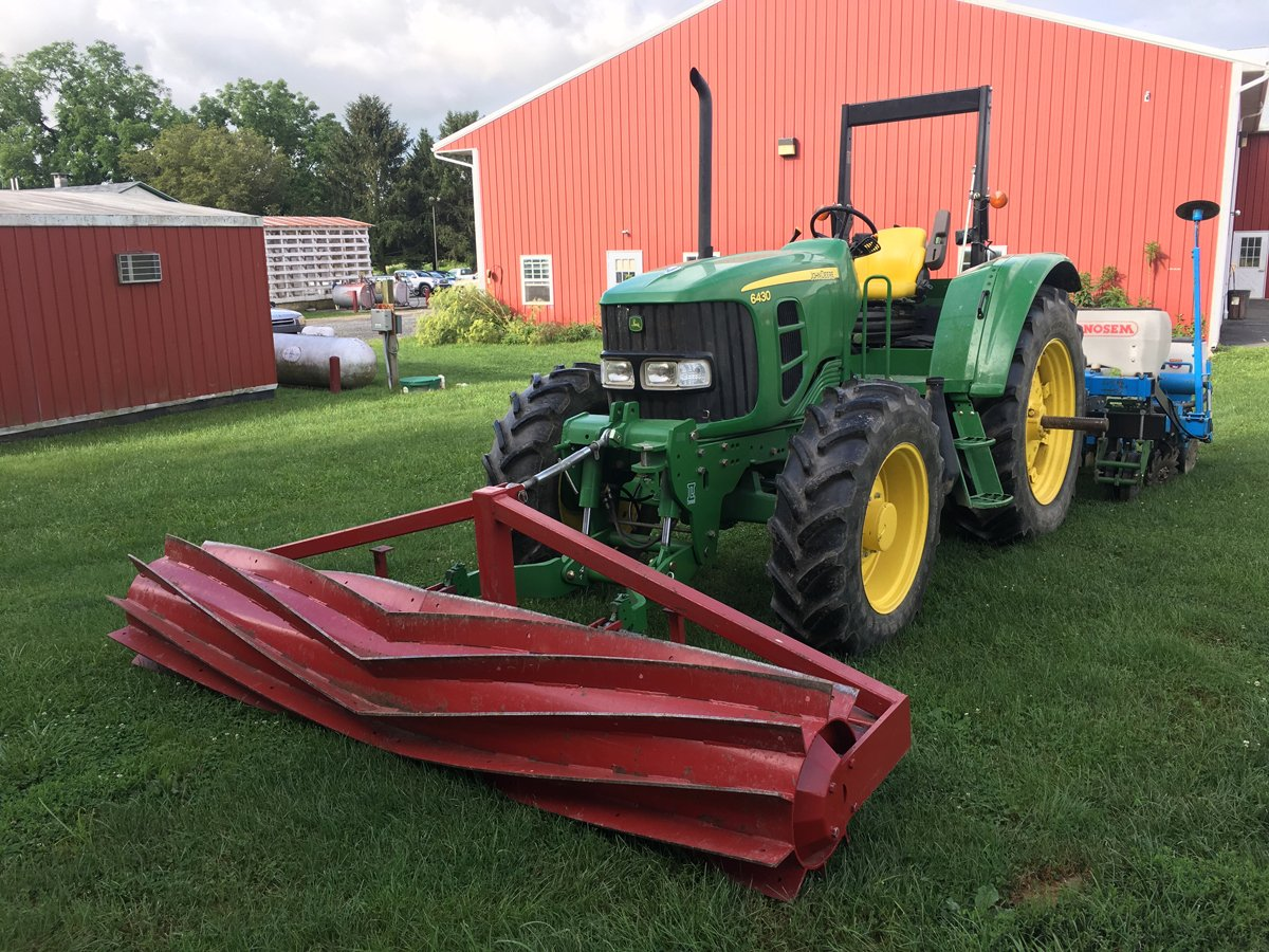 A no-till roller-crimper. (Photo credit: Rodale Institute)