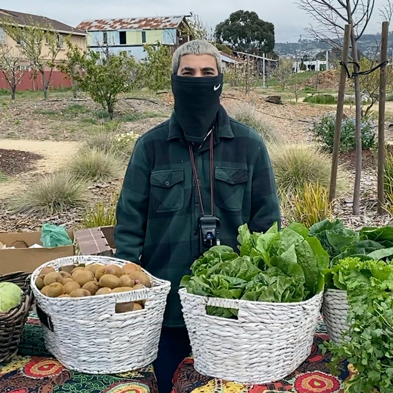 at the market table for urban tilth