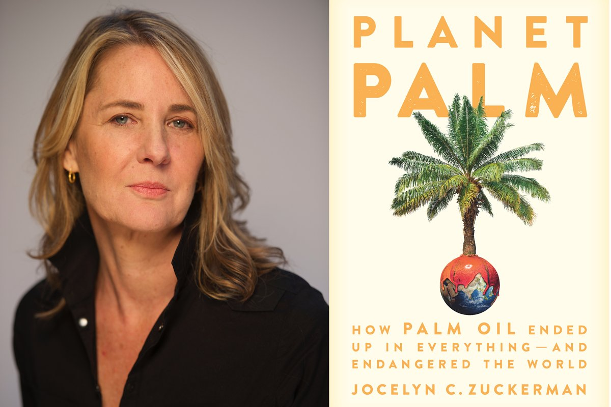 jocelyn zuckerman and her book planet palm