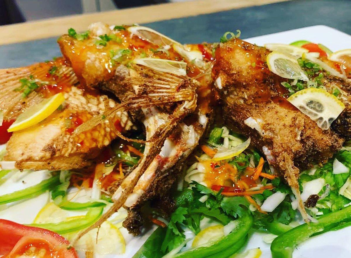 A scorpionfish dish from Carmo. (Photo courtesy of Dana Honn)