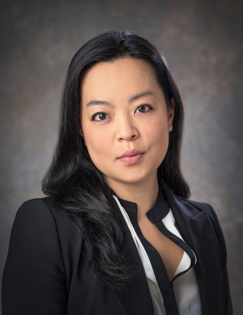 Francesca Hong's official state portrait. (Photo by Greg Anderson)