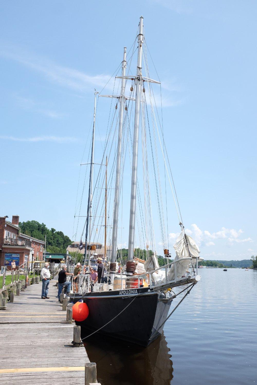 The schooner Apollonia. (Photo by Doug Bierend)