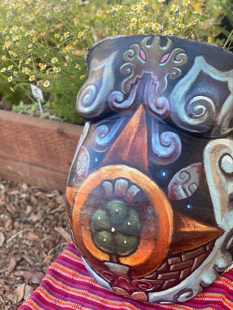 an indigenous fertility artwork.