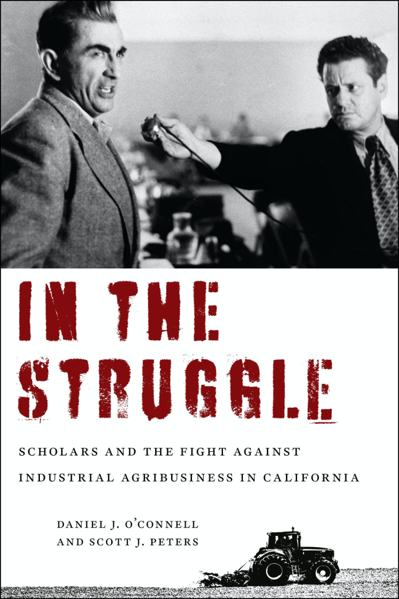 The cover of the book In The Struggle