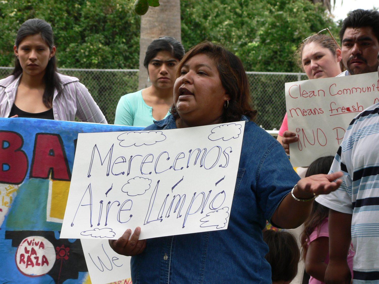 Irma Medelin speaks against chlorpyrifos