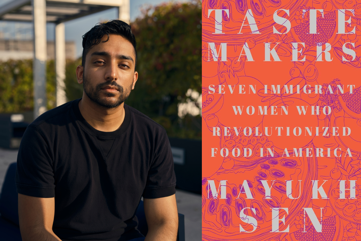 mayukh sen and the cover of taste makers the book